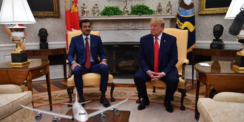 Signature de gros contrats lors de la visite de l'émir du Qatar à Washington