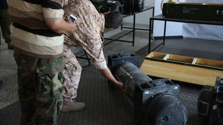 Des missiles de l'armée française découverts sur une base pro-Haftar près de Tripoli