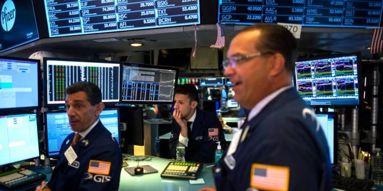 Wall Street hésite après l'annonce d'une enquête sur les géants de la tech