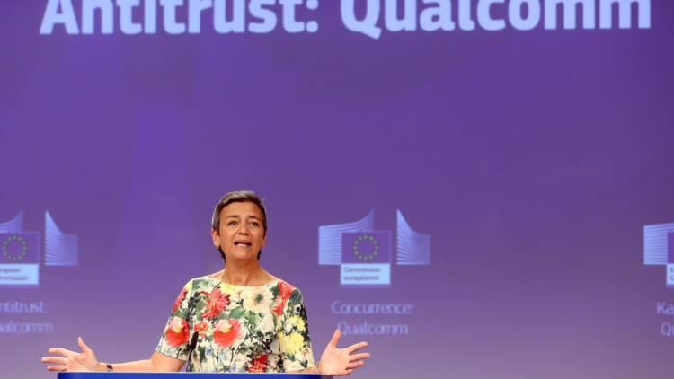 UE: Vestager, terreur des Gafa et encore plus puissante, attendue au tournant