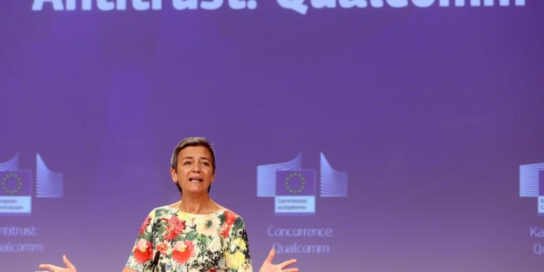 Concurrence: l'UE inflige 242 millions d'euros d'amende à Qualcomm