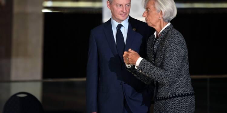 FMI: Le Maire donne la possibilité aux Britanniques de présenter un candidat de dernière minute