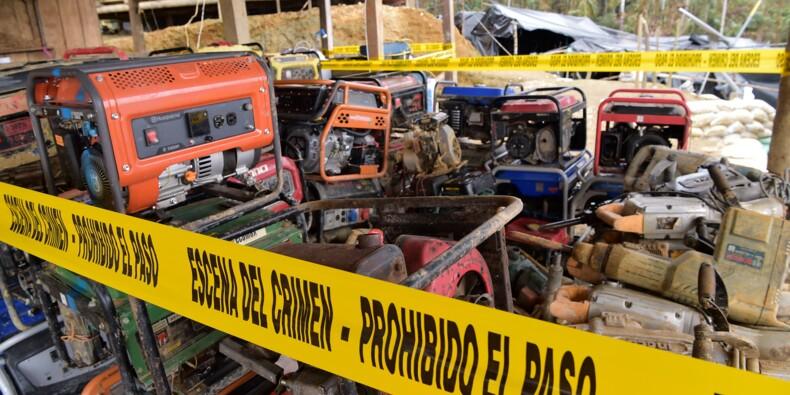 En Equateur, la fièvre de l'or menace l'exploitation minière légale