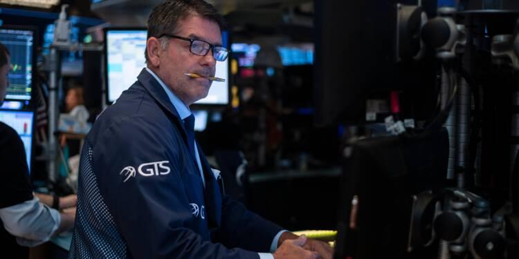 Dure fin de semaine à Wall Street, rattrapée par les tensions commerciales