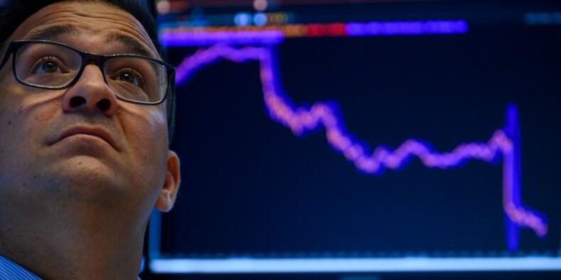 Wall Street plombée par la dégringolade des taux d'intérêt