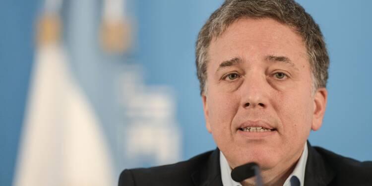 Argentine: démission du ministre des Finances