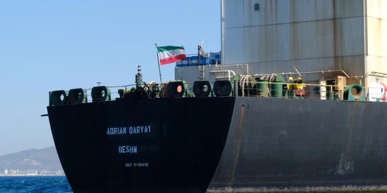 """Le pétrolier iranien """"trop grand"""" pour entrer dans un port grec, selon Athènes"""