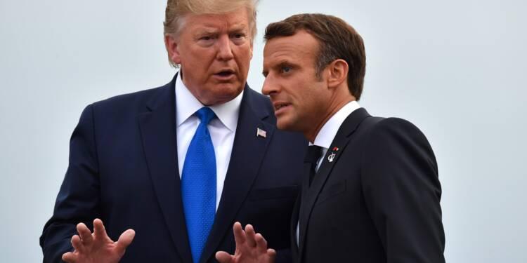 Taxe Gafa : Macron et Trump seraient proches d'un compromis temporaire