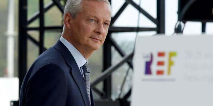 """Bruno Le Maire promet au Medef la """"stabilité"""" économique et fiscale"""