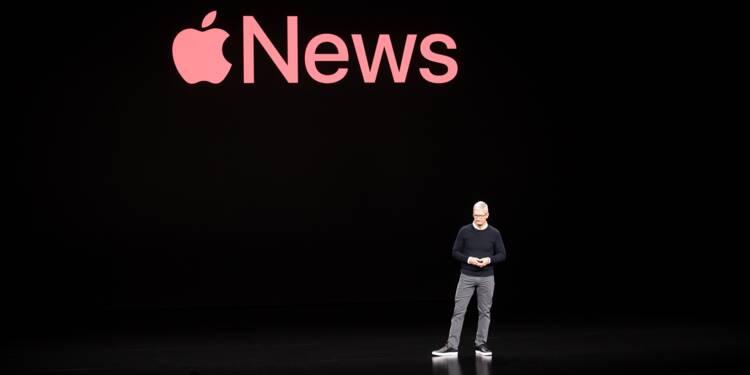 Les iPhone et les services, les cartes d'Apple pour rester dans le peloton de tête