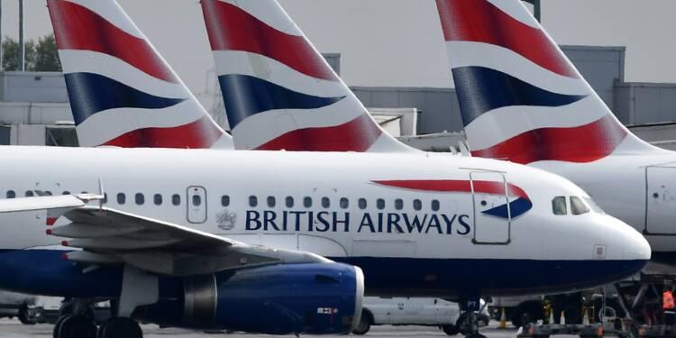 British Airways: grève des pilotes, presque 100% des vols annulés au Royaume-Uni