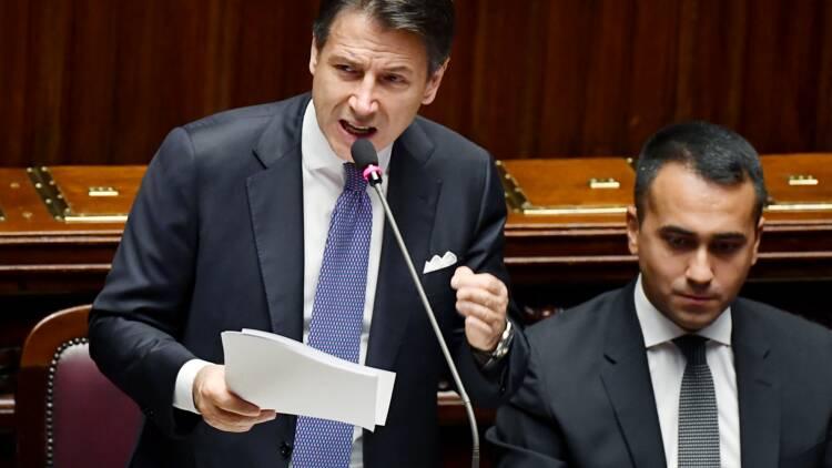 """Giuseppe Conte promet """"une nouvelle ère réformatrice"""" pour l'Italie"""