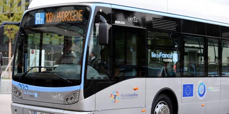 Des bus à hydrogène entrent en exploitation en France