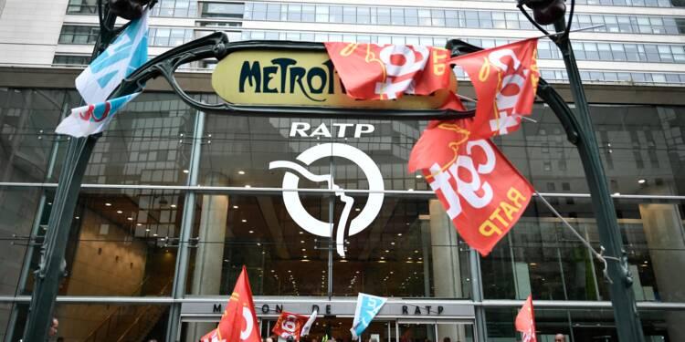 """Grève à la RATP très suivie, premier """"coup de semonce"""" contre la réforme des retraites"""