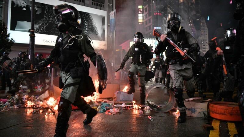 Hong Kong: les commerçants souffrent après un été de contestation