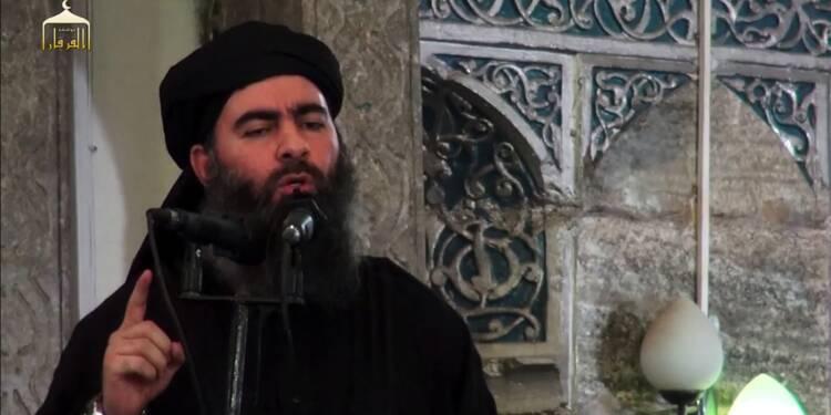 """Le chef de l'EI appelle à poursuivre le """"jihad"""" (enregistrement présumé)"""