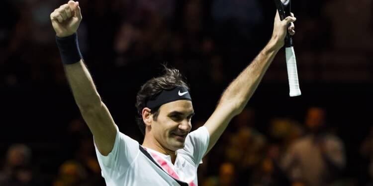 Tennis: la certitude Federer à Indian Wells, les inconnues Djokovic et Williams