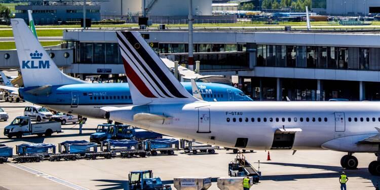 Air France-KLM perd 13% en Bourse après l'entrée de l'Etat néerlandais à son capital