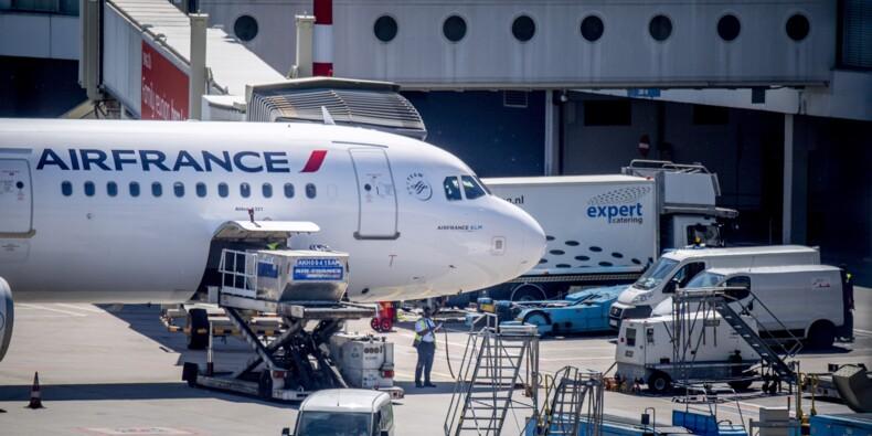 Air France sans pilote et lestée de lourds handicaps