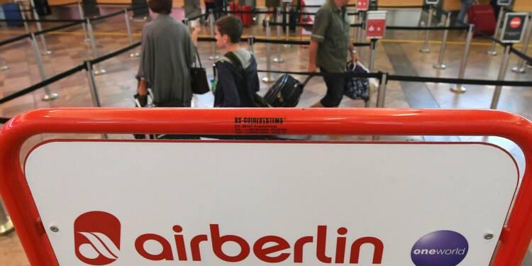 Trois prétendants à la reprise d'activités d'Air Berlin
