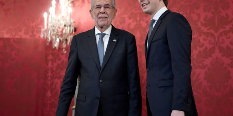 Autriche: le conservateur Sebastian Kurz chargé de former un gouvernement