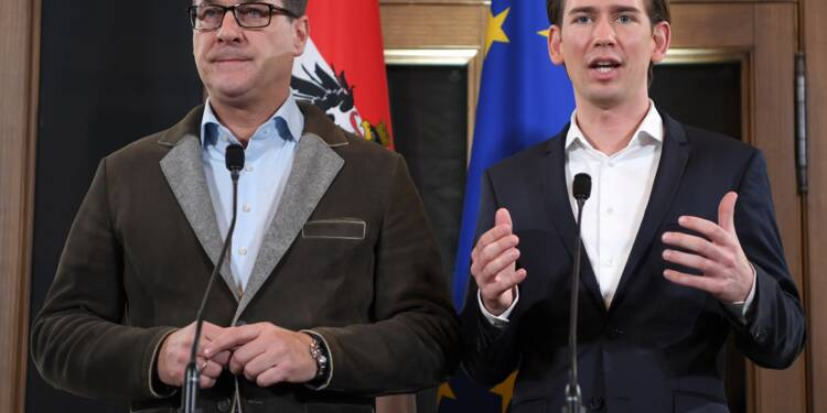 Autriche: trois ministères régaliens pour l'extrême droite, pas de référendum sur l'UE