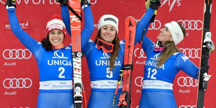 Ski: l'Italie en force lors de la descente dames de Bad Kleinkirchheim