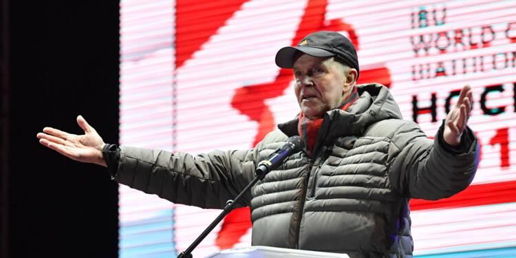 Biathon dopage: démission du président de la Fédération internationale