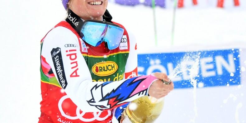 Ski alpin: débuts parfaits pour Tessa Worley à Sölden