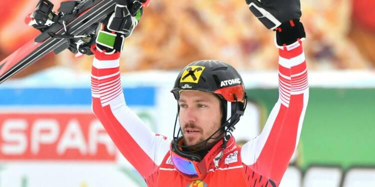 Ski: Hirscher lave l'affront lors du slalom de Saalbach