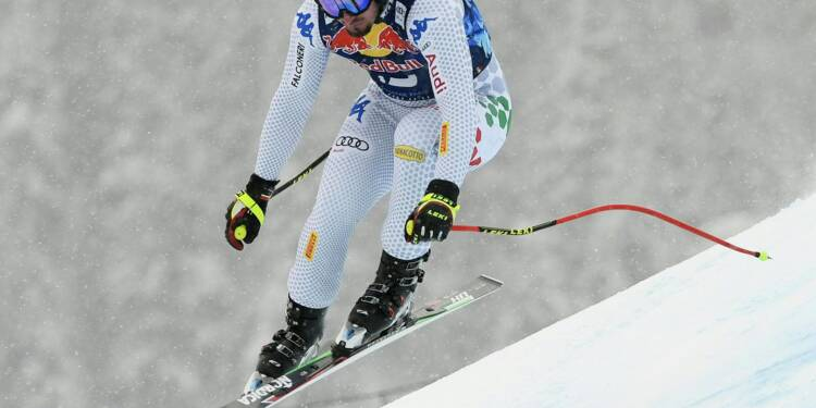Ski: Dominik Paris domine la Streif pour la 3e fois