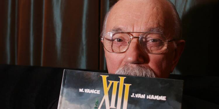 """Bande dessinée: décès de William Vance, le dessinateur de """"XIII"""""""