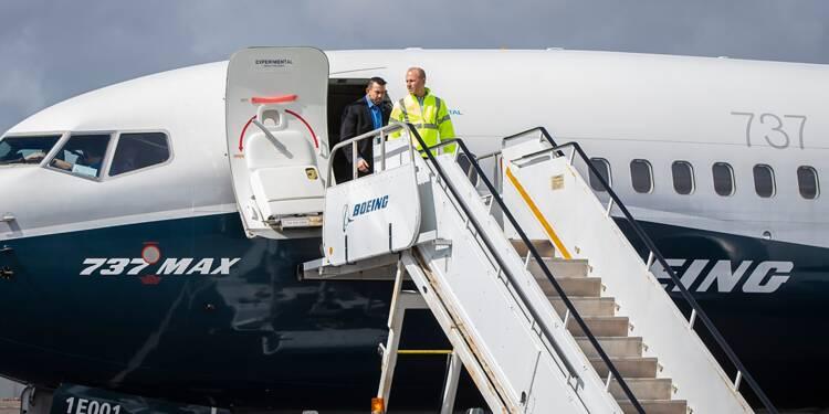 Boeing a soumis une partie de la documentation du 737 MAX modifié