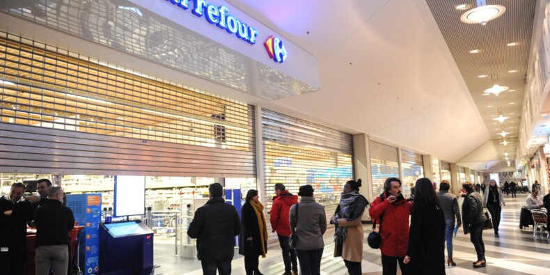 Restructuration chez Carrefour Belgique: 24 hypermarchés fermés en signe de protestation