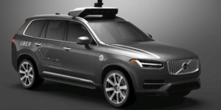 Uber pourrait disposer d'une flotte de plus de 20.000 voitures autonomes dans 3 ans