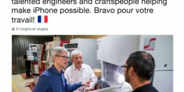 Le DG d'Apple vient de rendre visite à une startup du Calvados derrière la technologie de reconnaissance faciale de l'iPhone X