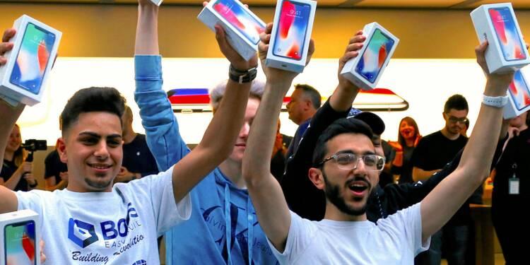Graphique : la domination du marché du smartphone par Apple