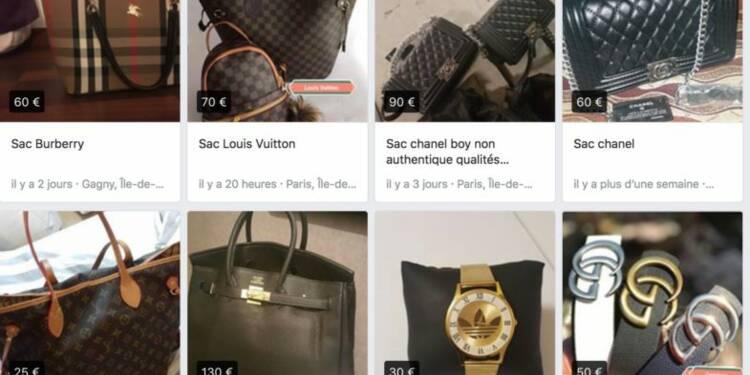 Des gens vendent des centaines de contrefaçons sur Facebook en France — la plateforme revendique pourtant une 'tolérance zéro'