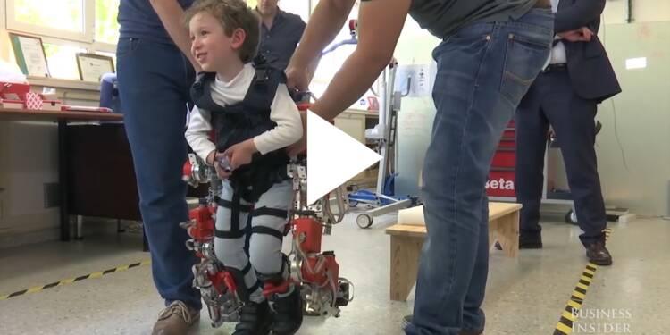 VIDEO: Cet exosquelette peut aider les enfants handicapés à marcher
