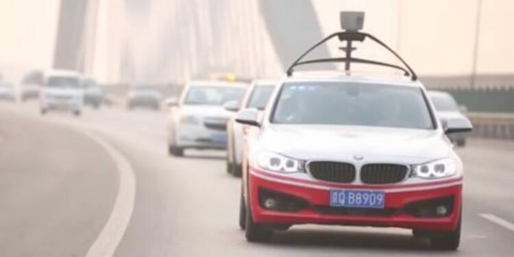 Le géant chinois Baidu lève 1Md€ pour concurrencer Tesla aux Etats-Unis dans la voiture autonome