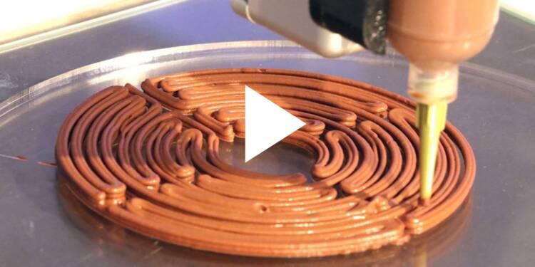 VIDEO: Voici le premier restaurant qui prépare vos plats avec une imprimante 3D