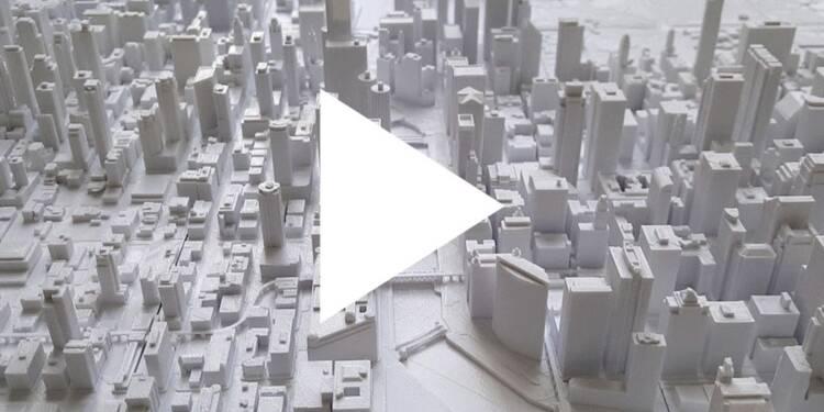 VIDEO: Ces maquettes géantes de New York et Chicago ont été réalisées grâce à une imprimante 3D