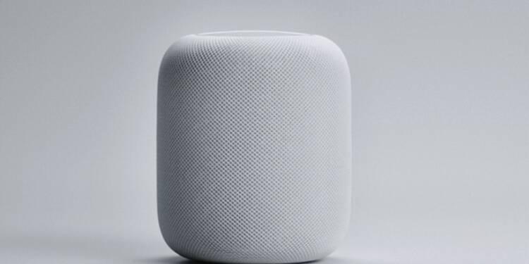 Apple lance son enceinte connectée HomePod avec un mois de retard