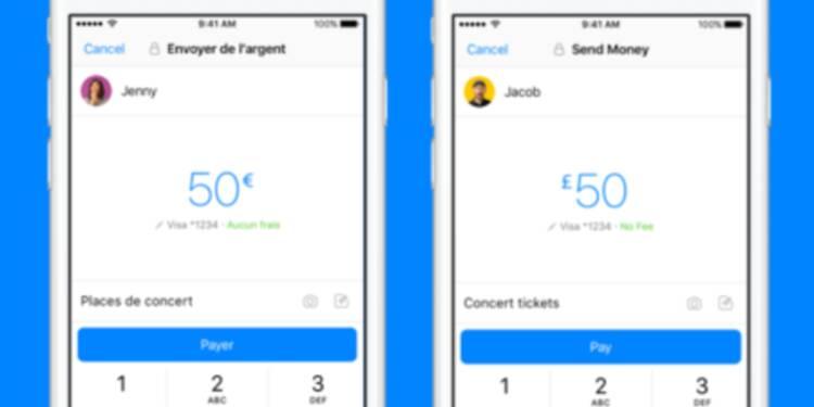 Vous pouvez désormais envoyer de l'argent à vos amis par Facebook Messenger