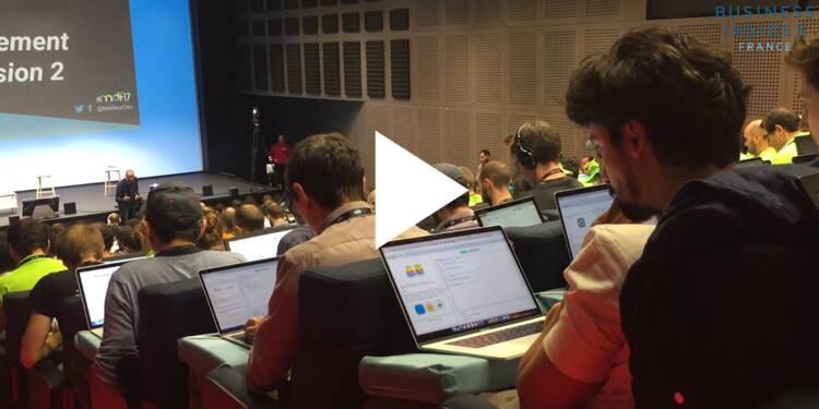 VIDEO: Le concours du meilleur développeur de France 2017 s'est tenu à Station F — plus de 700 développeurs s'y sont affrontés