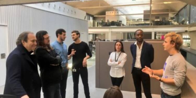 Xavier Niel est allé voir ce que faisaient les entrepreneurs de Station F ces jours-ci — voici les startups qu'il a rencontrées