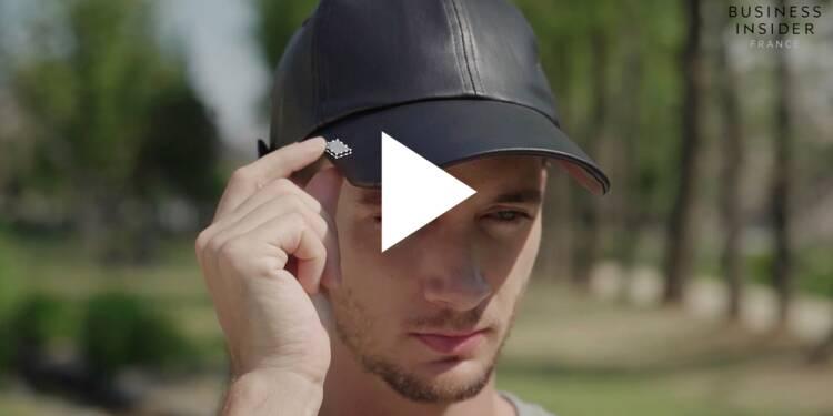 VIDEO: Cette casquette connectée vous permet d'écouter de la musique, sans écouteurs ni enceintes