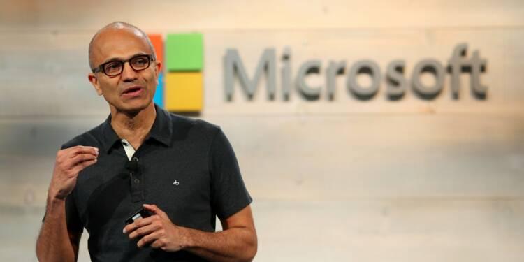 Plombé par la réforme fiscale de Donald Trump, Microsoft passe une charge de 14 milliards!