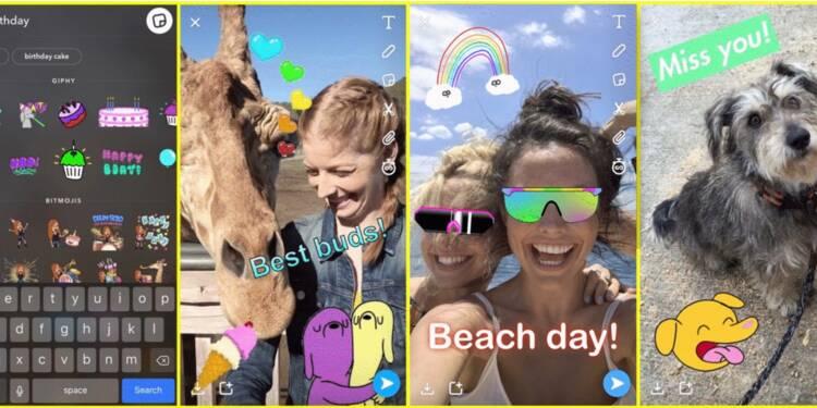 Snapchat copie une fonctionnalité que les utilisateurs adorent sur Instagram