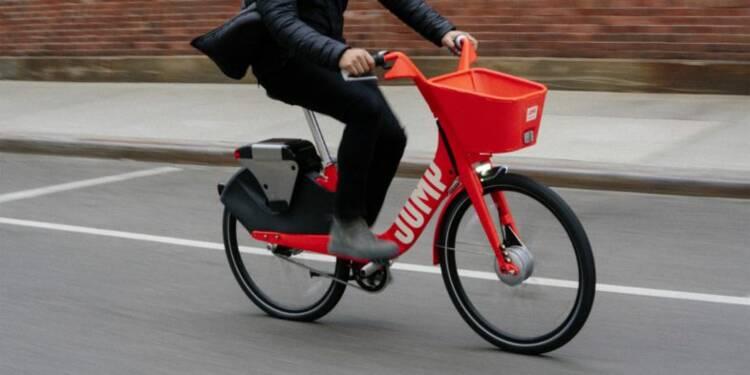 Uber rachète le service de location de vélos électriques que le géant du VTC propose directement dans son appli à San Francisco